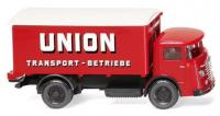 "Wiking 047603 1:87 Büssing 4500 Koffer-Lkw ""Union Transport"""